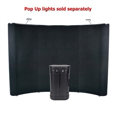 10' Wave Pop Up Panel Display