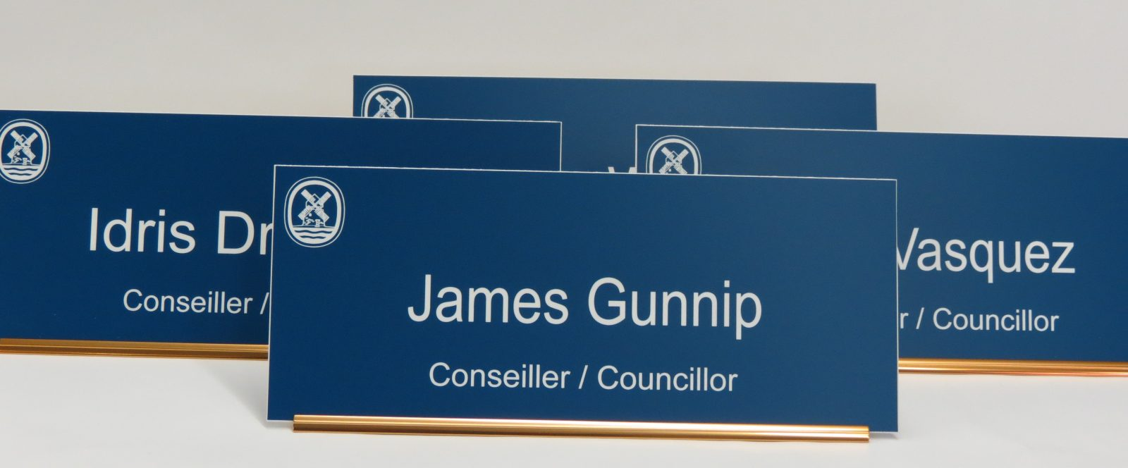 Engraved Desk Nameplates