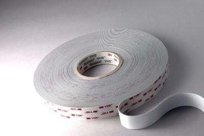 "3M VHB White Tape 4945 - 1.1 mm (45 mil) - 3/4"" x 108' (36 yds)"