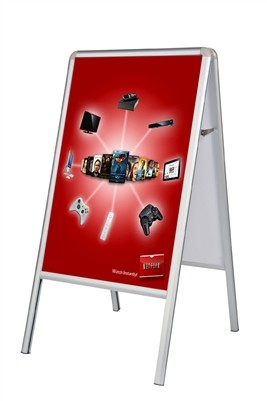 A-Frame Double-Sided Sidewalk Poster Sign - Poster Sign Only1
