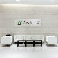 Custom Acrylic Office Lobby Sign For Reception Area Office Sign