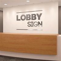 Dimensional Letters Custom Office Lobby Sign Kit
