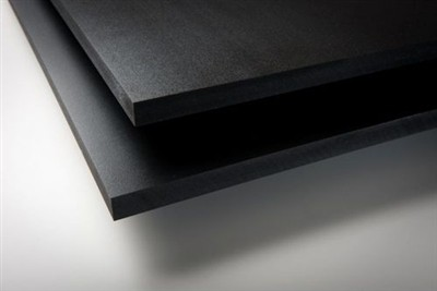 Expanded PVC Sheet - 3 mm - Black