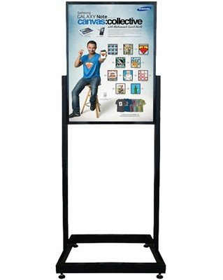 "Heavy Duty Poster Sign Holder Floor Stand 22"" x 28"""