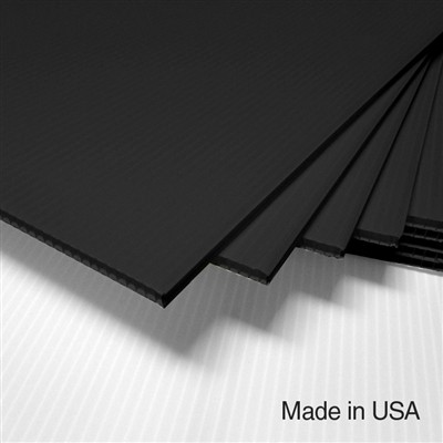 IntePro Corrugated Plastic - Black