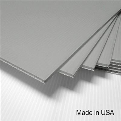 IntePro Corrugated Plastic - Silver