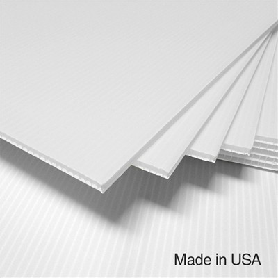 IntePro Corrugated Plastic - White - 10 mm