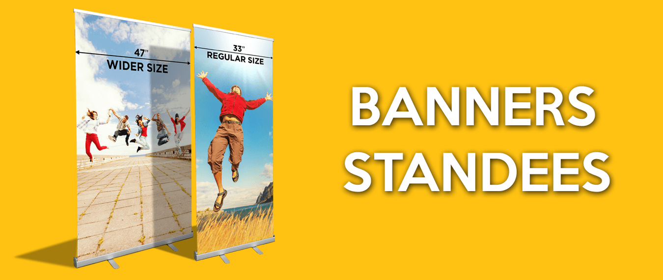 banners standees