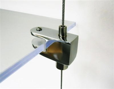 Cable Display Systems: Single-Sided Clamp